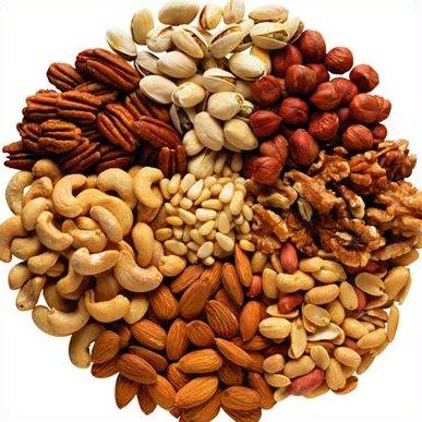 Полезные продукты - Орехи