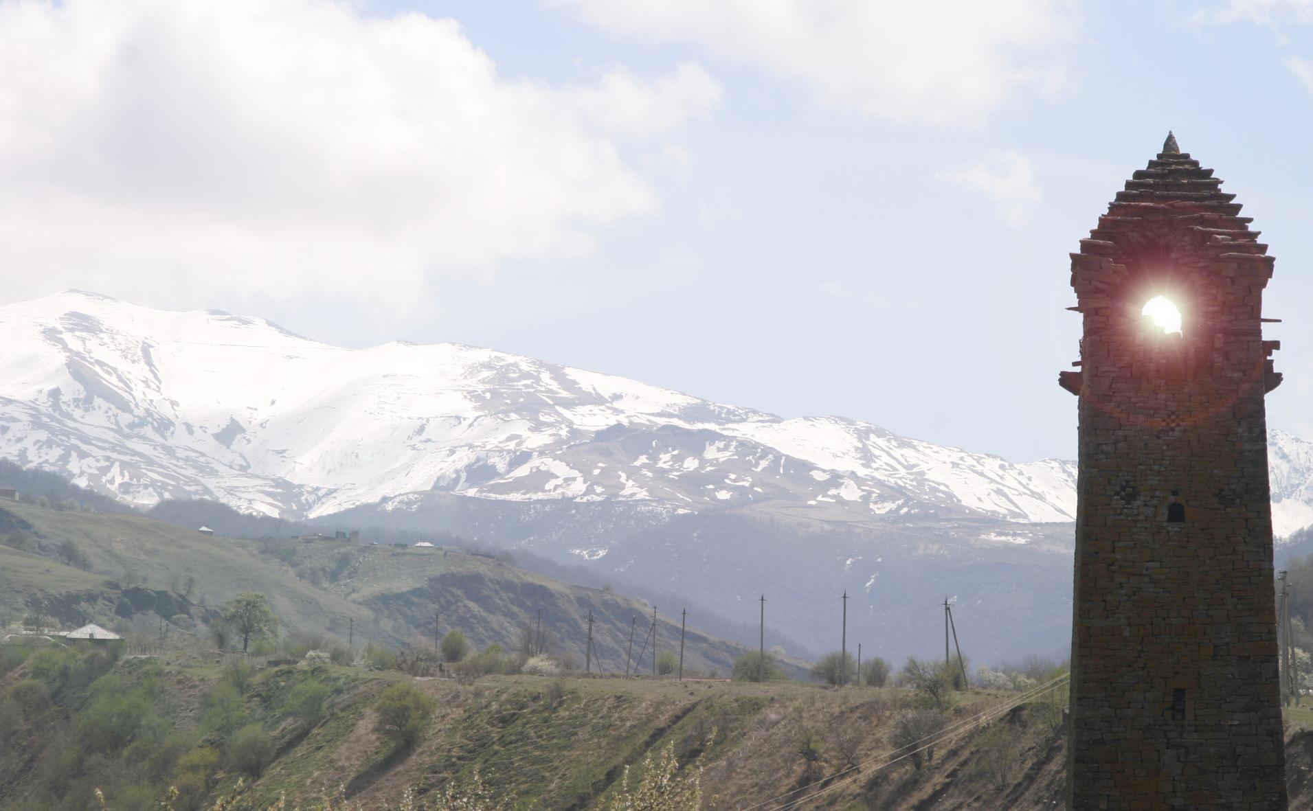 Чечня 2010, Башни