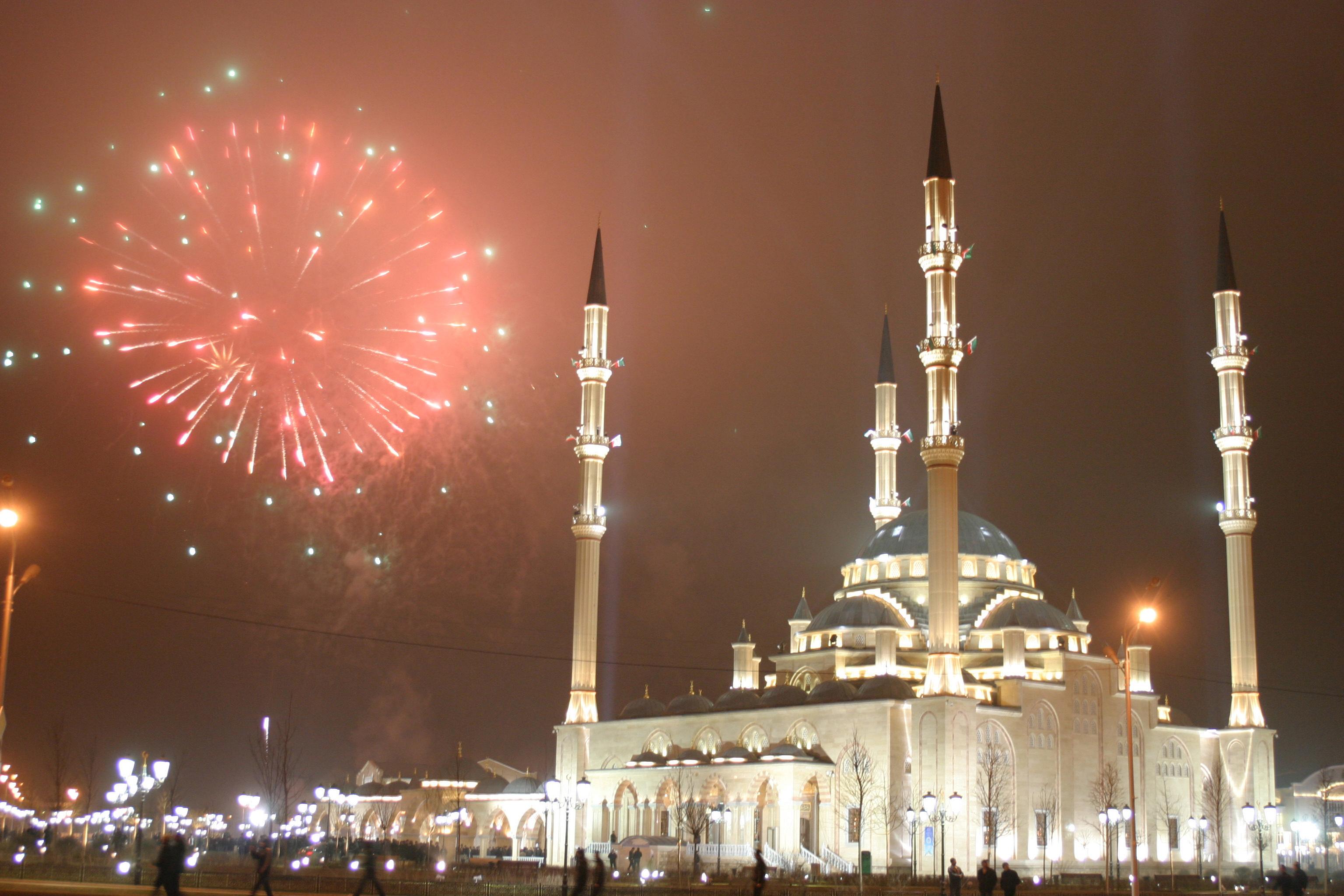 Чечня 2010, Грозный, Мечеть