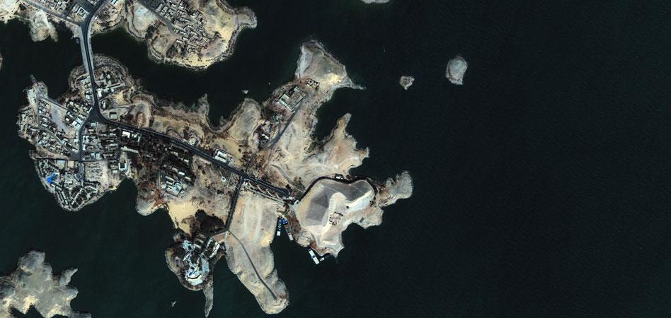 Фото из космоса Катар