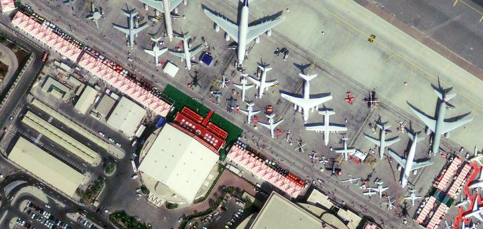 Фотографии Дубай с космоса.