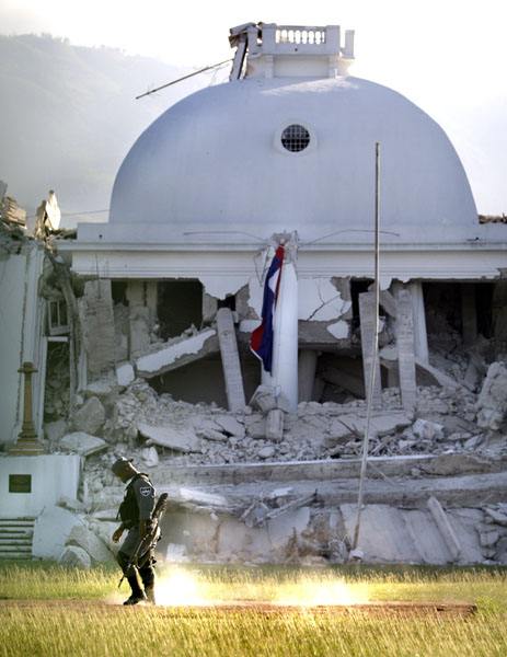 Фото Гаити после землетрясения