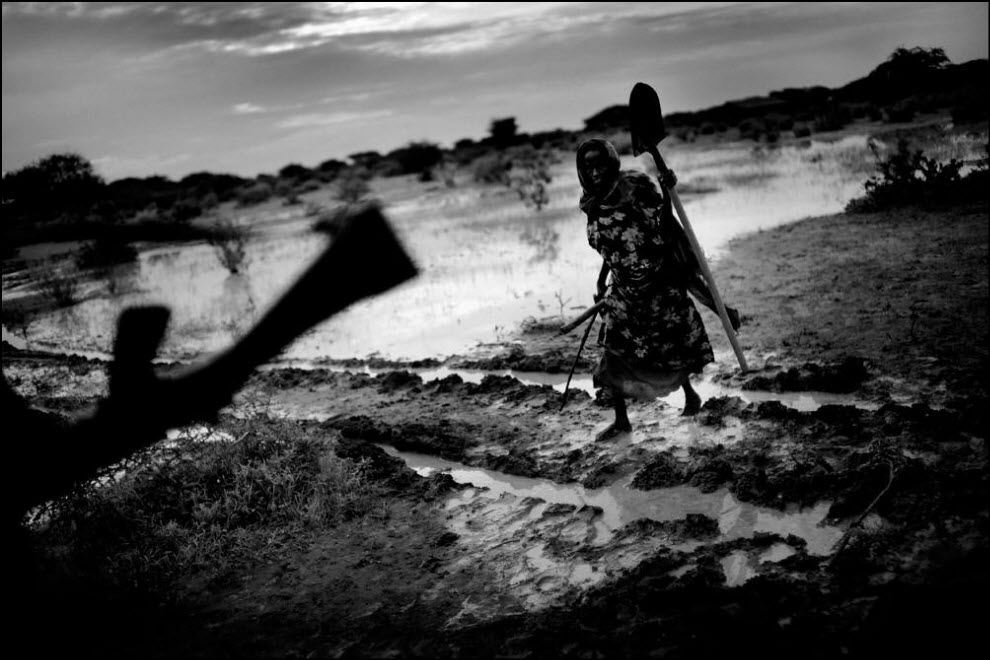 Беженцы. Нуждающиеся. Сомали. Голод.