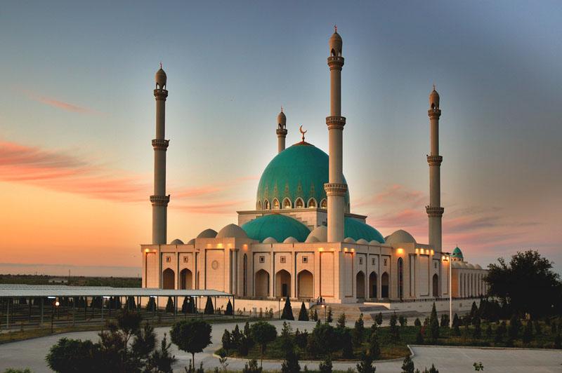 Turkmenistan Mechet-Velikogo-Saparmurada-Hodzhi